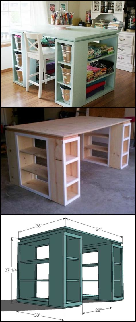 diy craft desk with storage 77 best images about stained glass home workshop ideas on