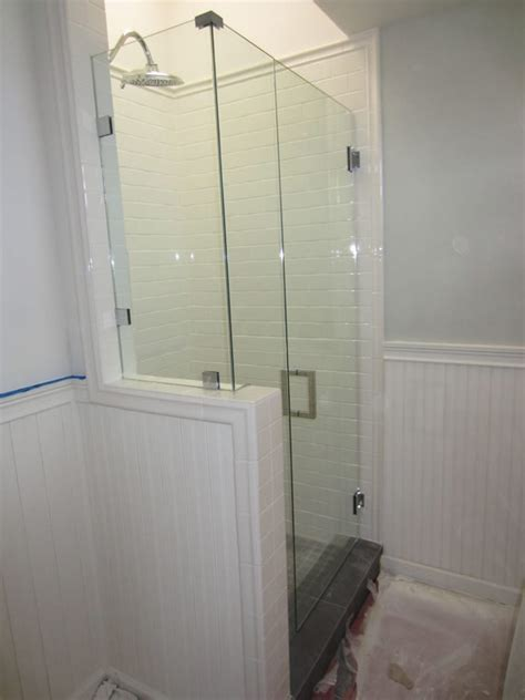 Installing Frameless Shower Doors San Diego Shower Enclosure Install Patriot Glass And Mirror San Diego Ca