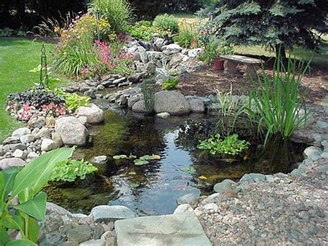 backyard duck ponds keeppy great landscape gardening ideas and designs