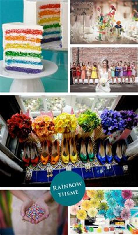 1000 ideas about rainbow wedding decorations on rainbow wedding wedding