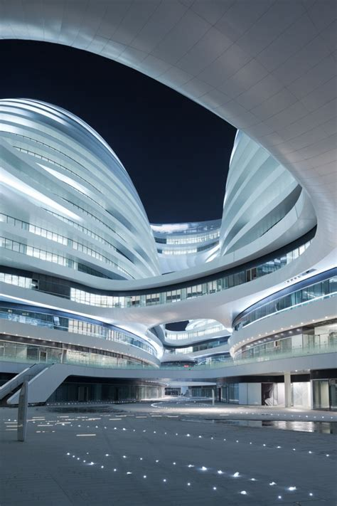 zaha hadid modern architecture the galaxy soho by zaha hadid architects home design