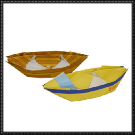 Boat Paper Craft - boat papercraftsquare free papercraft page 2