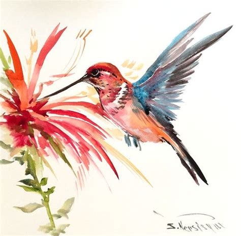 tutorial watercolor hummingbird 25 best ideas about hummingbird painting on pinterest