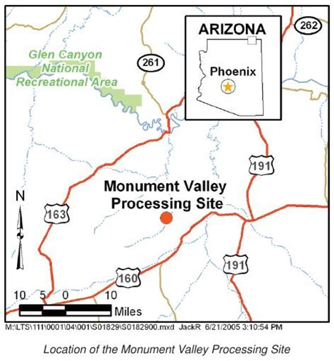 monument valley arizona map eeoicpa uranium mill in monument valley stephens