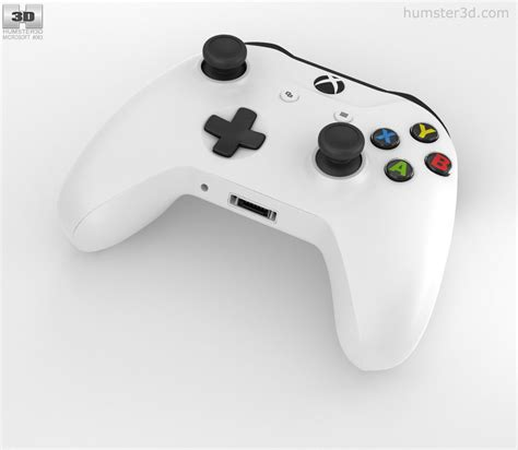 Xbox One S Controller microsoft xbox one s controller 3d model hum3d