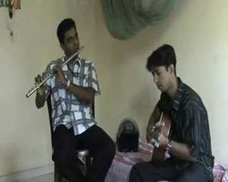 Sanjayas With Guitar by Flute And Guitar