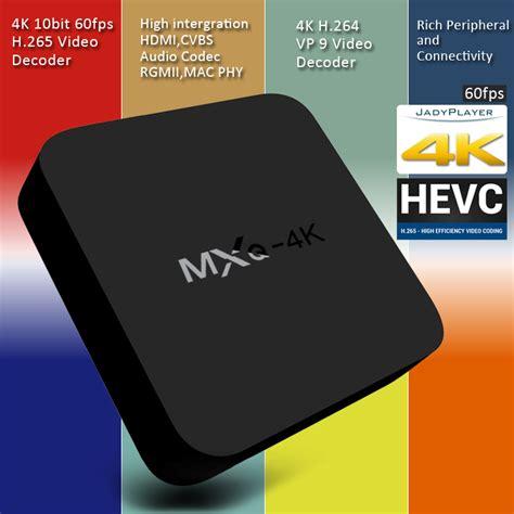 Murah Tv Box Android Smart Mxq 4k Rk3229 1g 8g H 264 H 265 mxq 4k rk3229 tv box android 4 4 1g 8g h 265 10bit wifi lan kodi hdmi