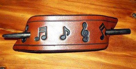 wildflowers leather ponytail holders old school leather co leather hair accessories old school leather co