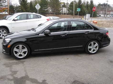 mercedes trade in 2011 mercedes c class c300 4matic sport awd one owner