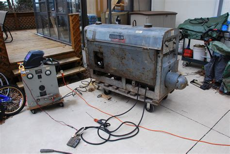 lincoln sa 200 pipeline dc welder gas powered f 163 ebay