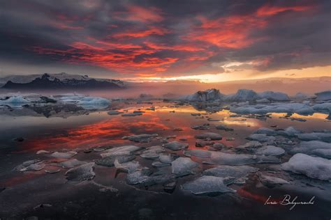 Sunset Reykjavik by 6 Day Summer Package With Jokulsarlon Glacier Lagoon