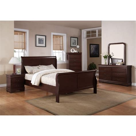 9 piece bedroom set louis philip cherry 9 piece bedroom set price busters