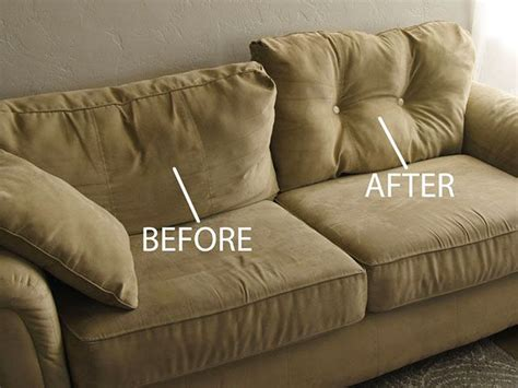 redo sofa cushions fix sagging cushions furniture
