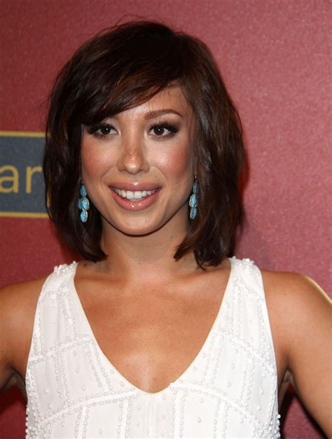 cheryl burke hairstyle 2014 cheryl burke at qvc 5th annual red carpet style event in