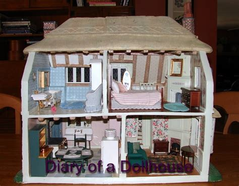 franklin mint doll house my franklin mint rose cottage dollhouse diary of a dollhouse