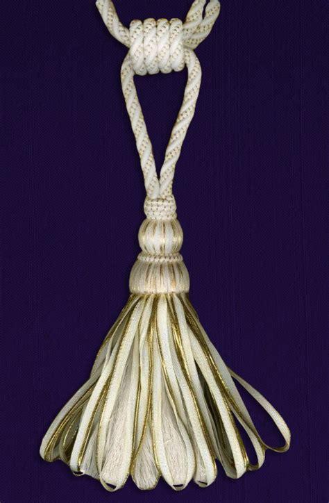 Sand Handmade Birkenstock Tassel tassel tieback single