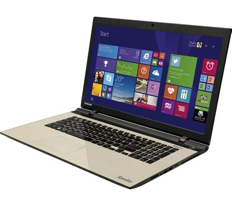 Toshiba Laptop 17 3 by Toshiba Satellite L70 C 13c 17 3 Quot Laptop Silver Deals Pc World