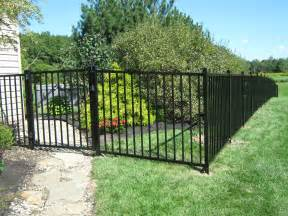 19 pictures of the black aluminum fence characteristics and quality