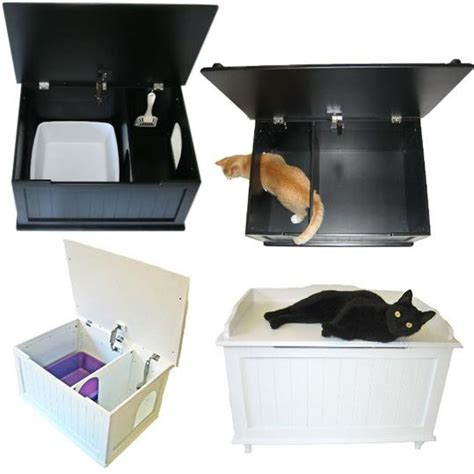 How To Keep Cat Litter The Floor by 17 Best Images About Cat Box Ideas On Cats