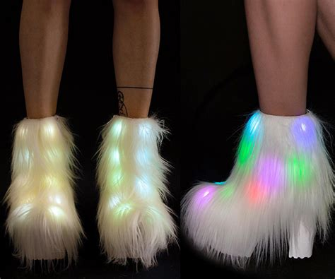 Things That Light Up by Fluffer Light Up Boots Coolshitibuy