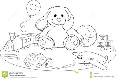 Coloring Box By Dimen Shop coloring pages children with toys