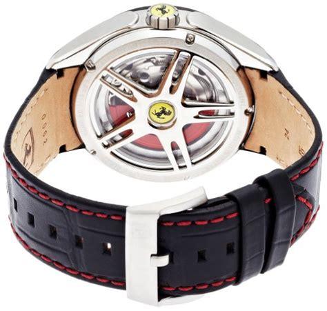 Scuderia Orologi Line White Black Rubber For scuderia 830099 orologio da polso uomo orologi