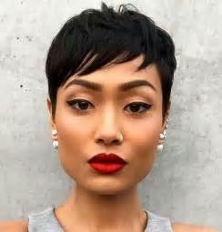 the best pixie cut for black hair 25 best ideas about black pixie haircut on pinterest