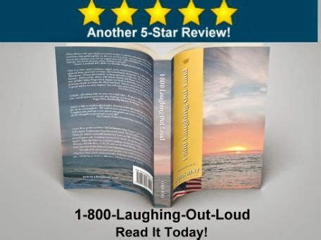 Hooyah a 5 star review of my new book 1 800 laughing out loud http