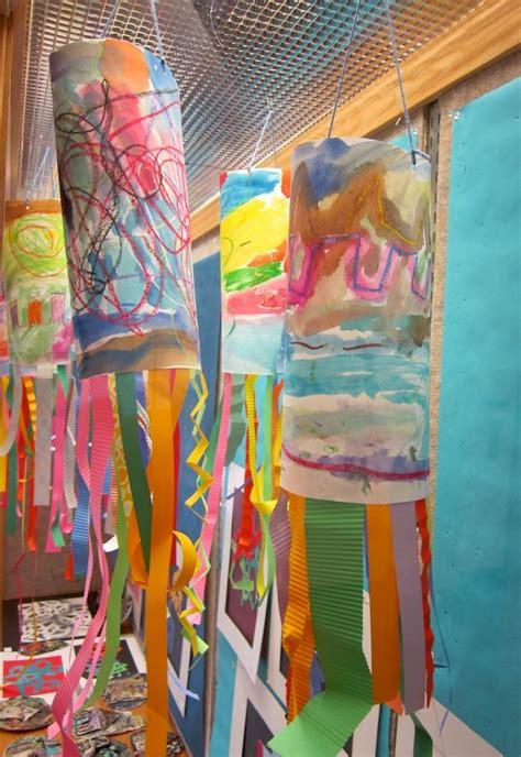 painting for kindergarten line windsocks for kindergarten