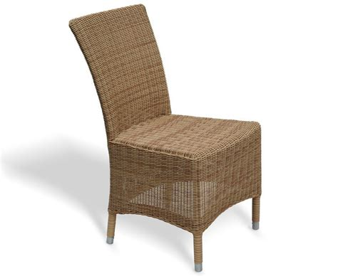 Whicker Dining Chairs Riviera Wicker Rattan Dining Chair Loom