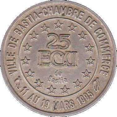 chambre de commerce de bastia 25 ecus bastia cities numista