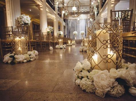 Wedding Aisle Flooring by Ceremony D 233 Cor Photos Candlelit Aisle Markers Inside