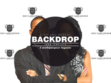 Step And Repeat Backdrop Template Templates Creative Market Step And Repeat Template Photoshop