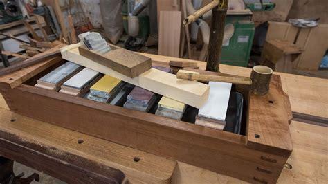japanese tool box sharpening station youtube