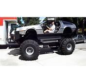 Delorean Monster Truck  YouTube