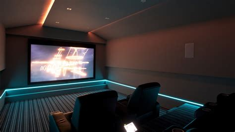 home cinema lighting design led lighting for home cinema finite solutions