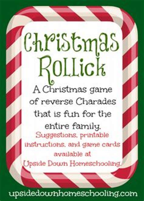christmas family games on pinterest family game night