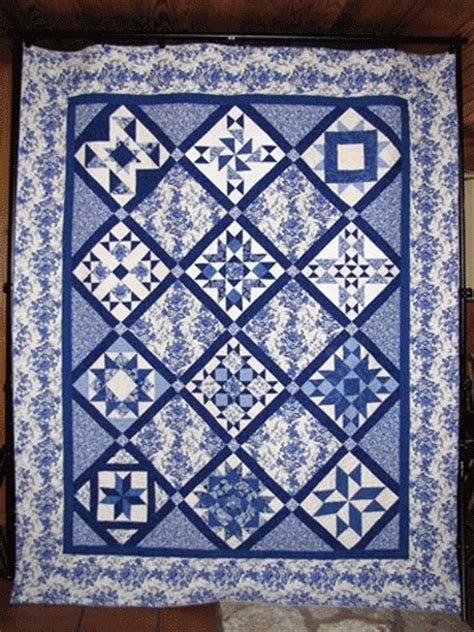 blue pattern blocks 159 best images about blue and white quilts on pinterest