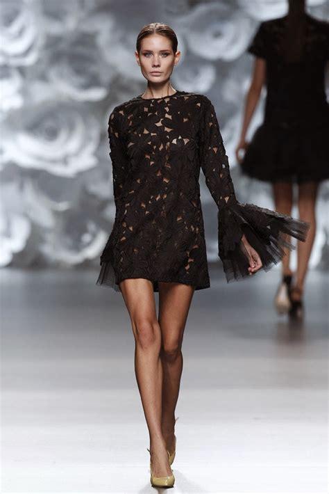 Avrilia Dress By Juana Collection fashion runway juana mart 237 n madrid fashion week p v 2014 cool chic style fashion