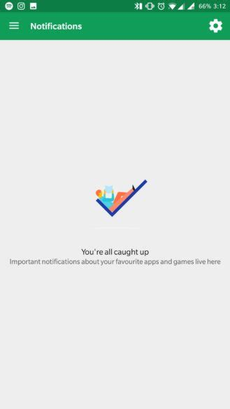 Play Store Notification Play Store Shows A New Notifications Section For
