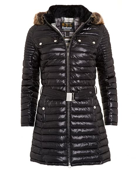 Barbour Quilted Coat by Barbour International Womens Endo Baffle Coat Quilted
