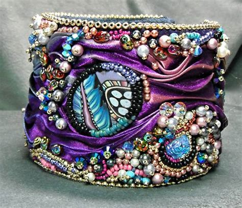 bead embroidery bracelets gallery bead embroidery and rivolis beaded jewelry