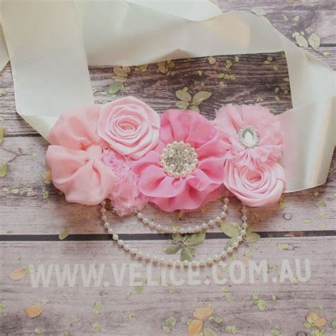 Baby Shower Sash For by 17 Best Ideas About Maternity Belly Sash On