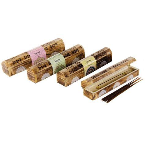 Incense Scents I by Patchouli 10 Incense Sticks Burner Gift Set Karma