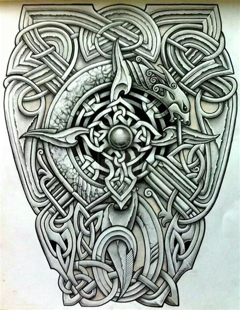 saxon tattoos designs 24 best anglo saxon ideas and images images on