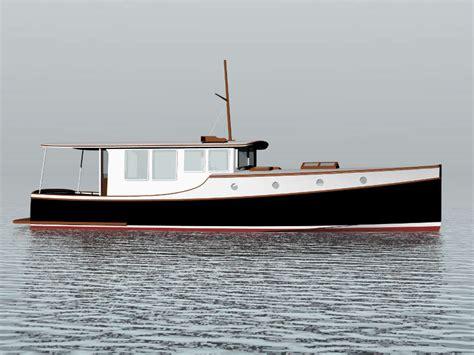 classic powercat boats displacement power boat plans aiiz