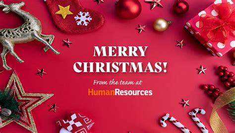 merry christmas  happy  year  human resources  human resources