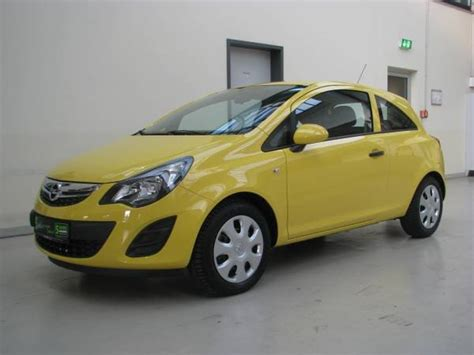 opel yellow opel corsa yellow