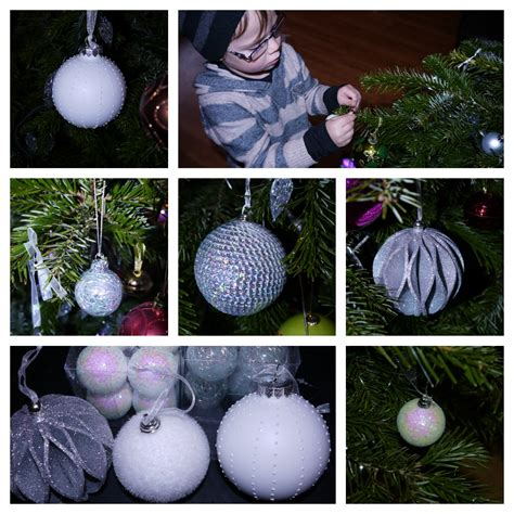 wilkinsons xmas decorations inside the wendy house tree baubles from wilkinson