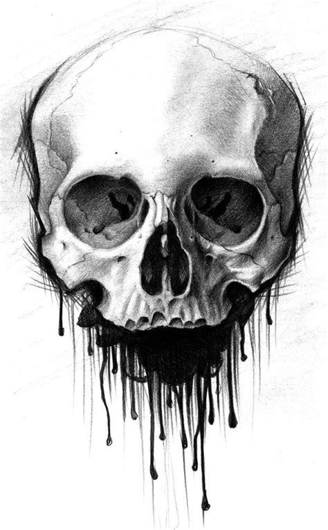 tattoo flash art skulls by chris lennox pinteres